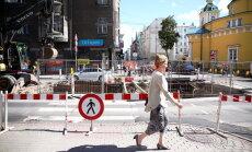 Строители пообещали закончить ремонтные работы на рижских улицах в срок