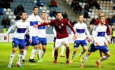 Latvijas futbola izlase 2018. gada pirmajā spēlē tiksies ar Fēru salām