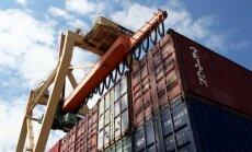 Par spīti sankcijām oktobrī preču eksports pirmo reizi pārsniedzis miljardu eiro