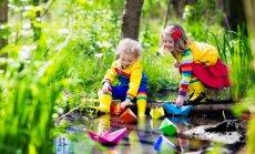 Pavasaris kā iedvesmas avots lieliskai laika pavadīšanai ar bērniem; špikeris nodarbēm