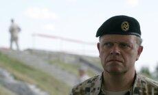 Nacionālo bruņoto spēku komandieris, ģenerālmajors Raimonds Graube Igaunijas, Latvijas un Lietuvas gaisa kontrolieru apmācību laikā Ādažu poligonā, kuras vada NATO Gaisa spēku pavēlniecības štābs Ramšteinā.