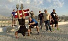 Video: Reperis aicina latviešus kļūt par karavīriem