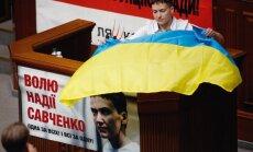Savčenko mudina Rietumus pastiprināt spiedienu pret Putinu
