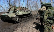 Ukrainas austrumos pirms Berlīnē gaidāmās tikšanās notiek kaujas