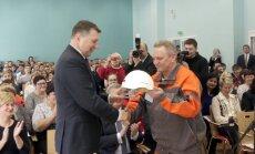 Foto: Vējonis vizītē Daugavpilī sola pārdomātāku nodokļu politiku