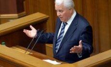 Kravčuks: tikai Ukraina var apturēt Putinu; mēs paši mirsim par savu zemi