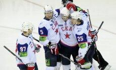 Sanktpēterburgas SKA iekļūst Gagarina kausa ceturtdaļfinālā