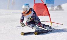 Āboltiņai trešā vieta un punktu rekords supergigantā FIS sacensībās Norvēģijā