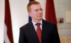 Rinkēvičs Viļņā sveiks Lietuvu ar pievienošanos eirozonai