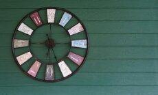 Oriģināli laika skaitītāji: moderni pulksteņi interjerā
