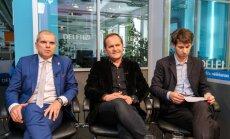'Delfi TV ar Jāni Domburu': diskusija par Zaļo un zemnieku savienību