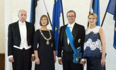 ФОТО: В Эстонии прошла инаугурация первой женщины-президента страны