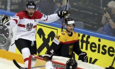 Austrieši uzvar Vāciju un 'sarežģī dzīvi' Latvijas izlasei