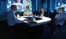 'Delfi TV ar Jāni Domburu' – atbild Dziesmu un Deju svētku komanda. Pilna saruna