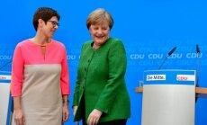 Merkele izraudzījusies potenciālo pēcnācēju CDU ģenerālsekretāra amatam