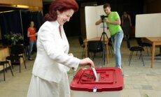 Vēlētāju aptauja: EP vēlēšanās pārliecinoši uzvarējusi 'Vienotība'