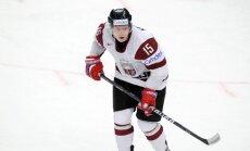 Ķēniņš atsācis treniņus ar Latvijas hokeja izlasi