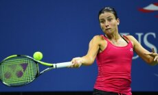 Sevastova ar skaistu uzvaru iekļūst prestižā Dubaijas turnīra ceturtdaļfinālā