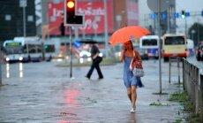 Draudīgi negaisa mākoņi no Polijas jau tuvojas Latvijai