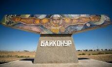 Foto: Krievijas kosmosa pilsētiņa Kazahstānas nekurienē Baikonura