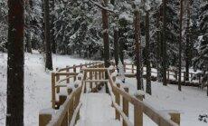 Idejas ziemīgai atpūtai tikai 30 kilometrus no Rīgas - dabas parkā 'Ogres Zilie kalni'
