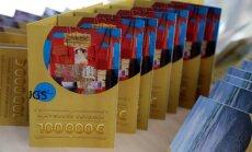 'Simtgades loterijas' laimestos izdalīs 3,2 miljonus eiro