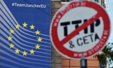 ES: Līdz Obamas termiņa beigām neizdosies panākt vienošanos par TTIP