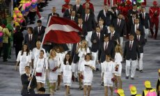 Riodežaneiro svinīgi atklātas XXXI olimpiskās spēles