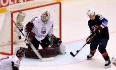 Visu cieņu latviešiem, pēc smagās spēles atzīst ASV uzvaras kaldinātājs Atkinsons