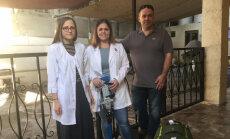 Brīvprātīgie no Latvijas dodas uz Jordāniju, lai cilvēki atkal varētu staigāt