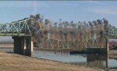 Video: ASV uzspridzina vecu tiltu