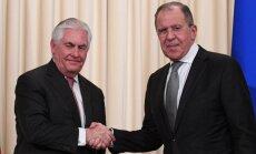 Лавров напомнил Тиллерсону, что американцы — незваные гости в Сирии