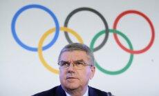 Bahs aicina Krieviju pieņemot SOK nosacījumus un izbeigt šo 'sporta vēsturē nepatīkamo epizodi'
