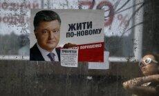 Porošenko uzreiz pēc inaugurācijas ar ES vēlas parakstīt ekonomikas reformu līgumu