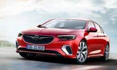 Jaunā 'Opel Insignia' sportiskajā 'GSi' versijā