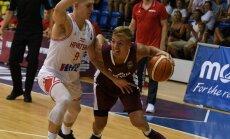 Latvijas U–18 basketbolisti EČ savās mājās sāk ar zaudējumu