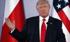 Tramps atzīst Krievijas iespējamo iejaukšanos ASV vēlēšanās