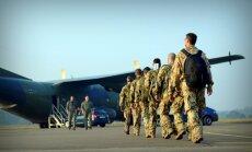 Tuvāko nedēļu laikā Latvijā ieradīsies pirmie Kanādas NATO bataljona karavīri un tehnika