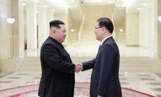 Ким Чен Ын впервые принял делегацию из Южной Кореи