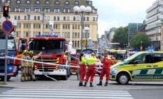 Somu policija Turku sašauj vīrieti, kurš nodūris divus cilvēkus