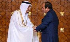 Saūda Arābija un Ēģipte vienojas būvēt tiltu pār Sarkano jūru