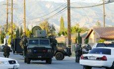 Apšaudē Kalifornijā nogalināto skaits - 14, nošauti arī divi uzbrucēji