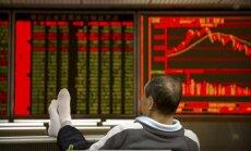 Akciju indeksu svārstības pagājušajā nedēļā - kā amerikāņu kalniņi