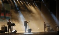 Foto: Ziemeļkorejā koncertē slovēņu industriālā roka grupa 'Laibach'