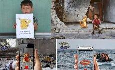 Играешь в Pokémon Go? Сирийские дети играют на тебе, пока ты играешь в Pokémon Go