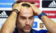Spānija pārsteidzoši pirms Pasaules kausa atlaiž galveno treneri Lopetegi
