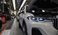 BMW uzsācis sava vislielākā apvidnieka 'X7' ražošanu