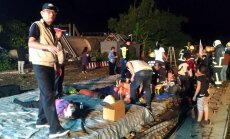 Taivānā vilcienam noskrienot no sliedēm, vismaz 18 bojāgājušie un 168 ievainotie