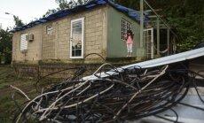 Trīs mēnešus pēc viesuļvētras 'Marija' pusei Puertoriko joprojām nav elektrības