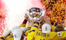 Zviedrija otro gadu pēc kārtas 'bullīšos' triumfē pasaules čempionātā